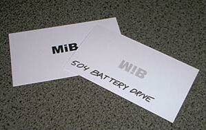 Mib cards for Mib business card